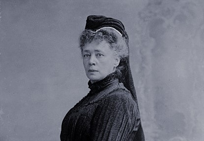 Cropped photo of Bertha von Suttner in 1906