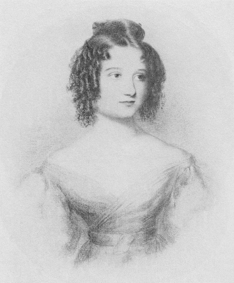 Sketch of Ada Bryon at 17